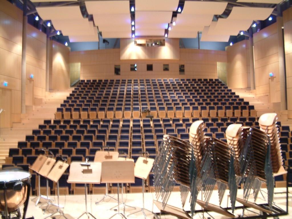 Ettelbrück Stage to Audience